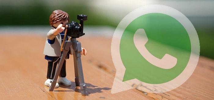 WhatsApp test album-functie bij versturen van meerdere foto's