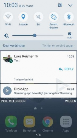 WhatsApp reply