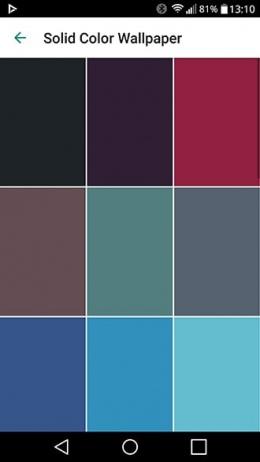 WhatsApp solid color wallpaper