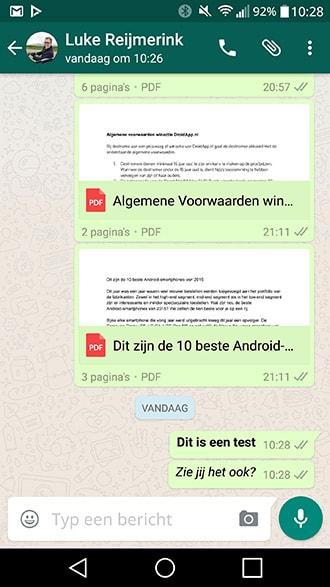 WhatsApp 2.12.535 tekst markdown