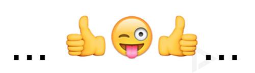 emoji spiegelbeeld