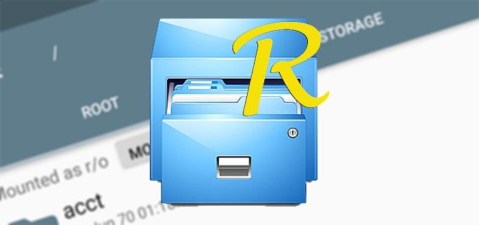 Root Explorer 4.0 verschenen met Material Design
