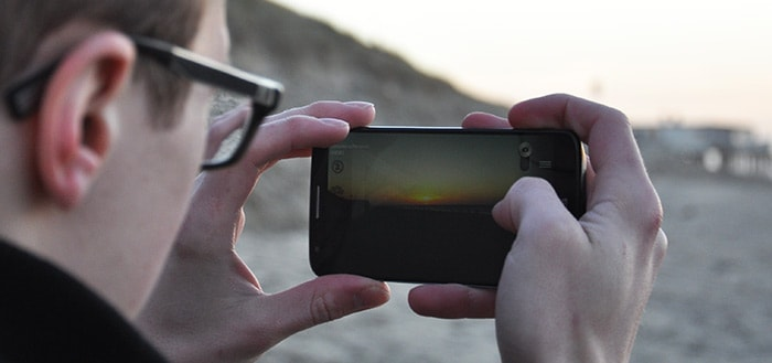 smartphone vakantie