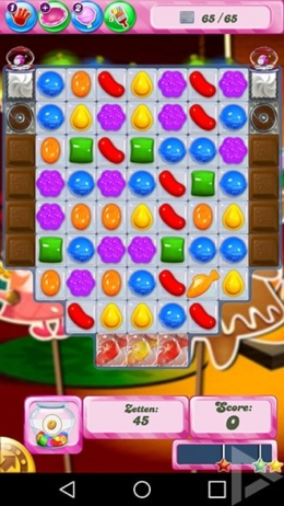 Candy Crush Saga Zuivelzee