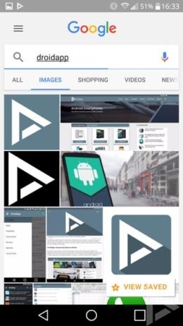 Google Afbeeldingen Save