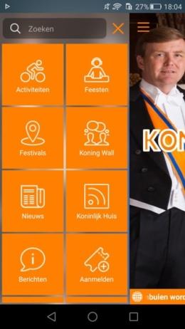 Koningsdag 2016 app