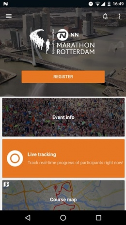 NN Marathon Rotterdam app