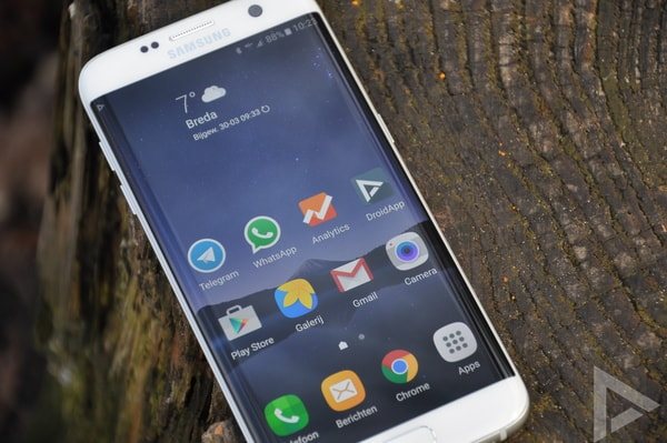 Samsung Galaxy S7 beveiligingsupdate april 2018