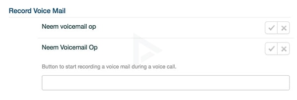 WhatsApp voicemail