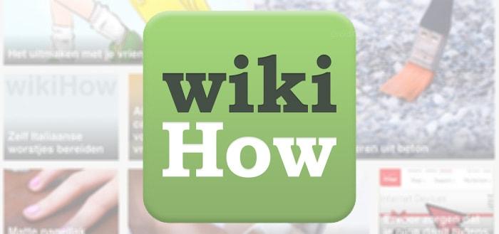 WikiHow: een handleiding-app vol slimme trucjes