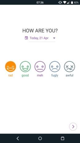Diary Mood Tracker
