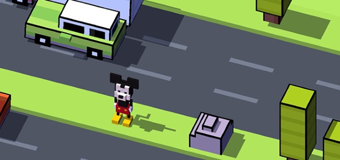 Disney Crossy Road: bekende game in Disney-sausje
