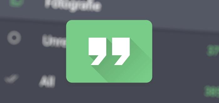 Quote: een nieuwe app voor je feeds van de maker van Fenix