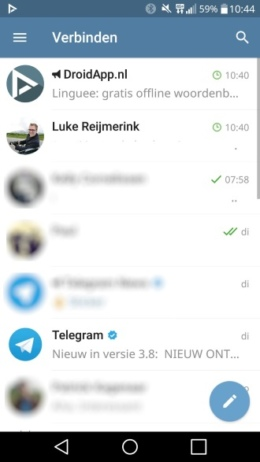 Telegram storing 29 april 2018