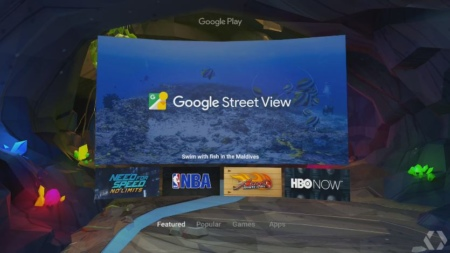 Android N VR-modus