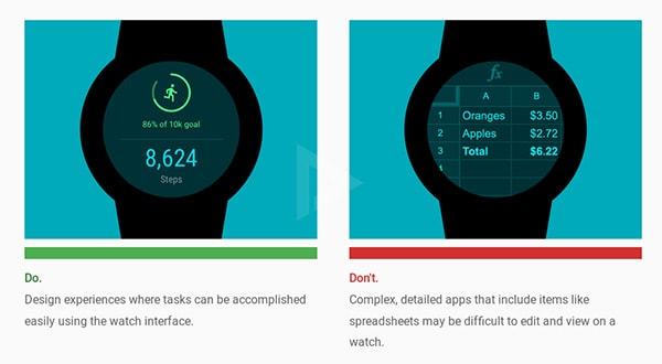 Android Wear Material Design