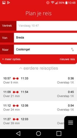 Arriva app planner
