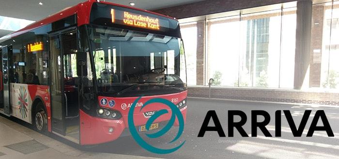 Arriva app: je reis per openbaar vervoer plannen door heel Nederland