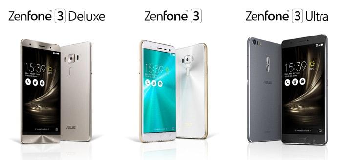 Asus kondigt ZenFone 3-serie aan; veel waar voor je geld