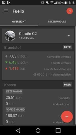 Fuelio 5.7