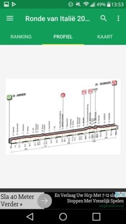Giro d'Italia app