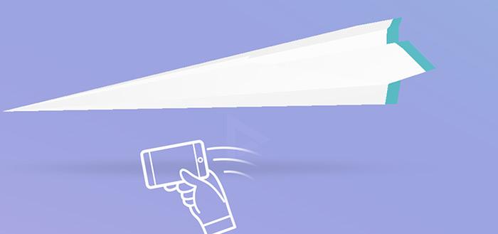 Google Paper Planes: gooi en vang virtuele papieren vliegtuigjes met de hele wereld