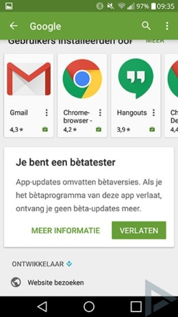 Google Play Store 6.7