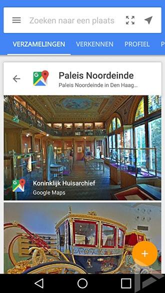Google Street View Paleis Noordeinde