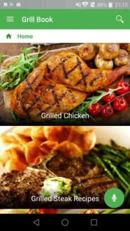 Grill recepten app