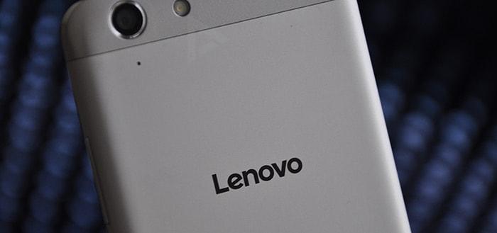 Lenovo showt nieuwe smartphone met grootste schermoppervlak ooit