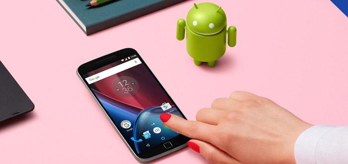 Moto G4 en G4 Plus ontvangen Android 7.0 Nougat in Nederland