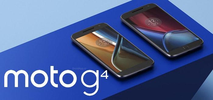Motorola stopt update-ondersteuning voor Moto G4 en G4 Play