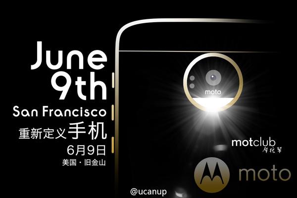 Moto Z 9 juni