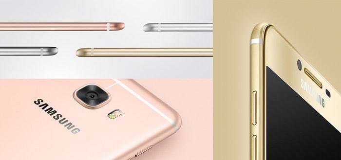 Samsung Galaxy C5 aangekondigd: metalen smartphone voor 299 euro