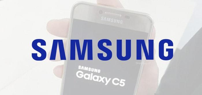 Samsung Galaxy C5 met metalen behuizing laat zich opnieuw zien