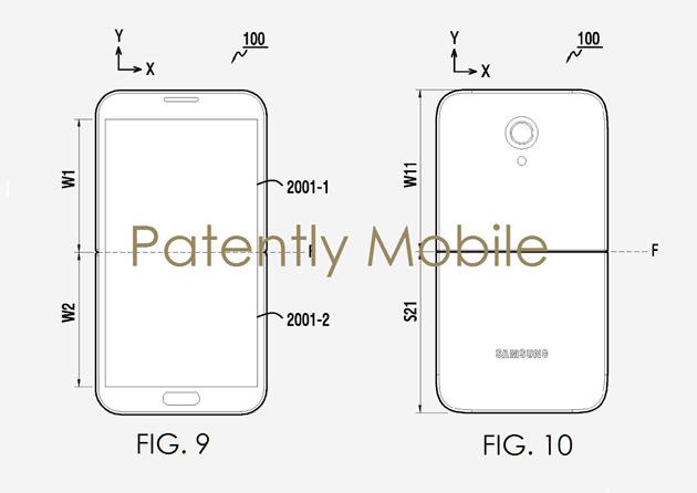Samsung patent display flexibel