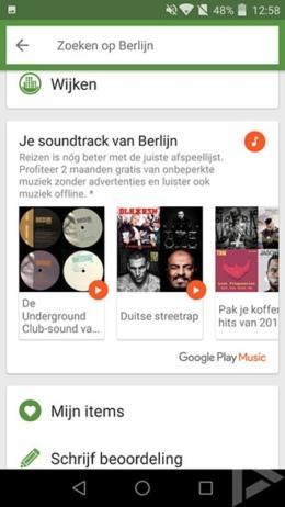 TripAdvisor Google Play Music