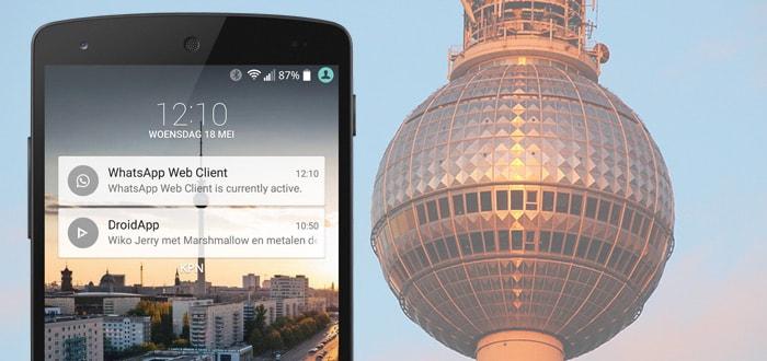 WhatsApp 2.16.86 laat je notificatie zien als desktop-app of WhatsApp Web actief is
