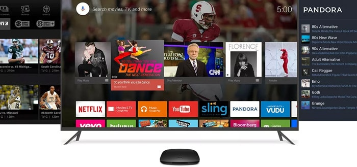 Xiaomi Mi Box Android TV header
