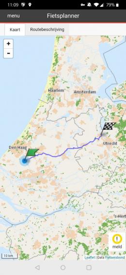 Fietsersbond Routeplanner app