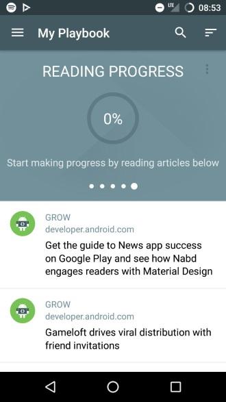 Playbook app