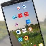 Regionale omroepen vernieuwen hun Android-app met nieuw design (preview)