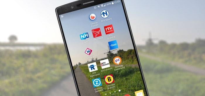 Grote updates met nieuw design voor apps regionale omroepen