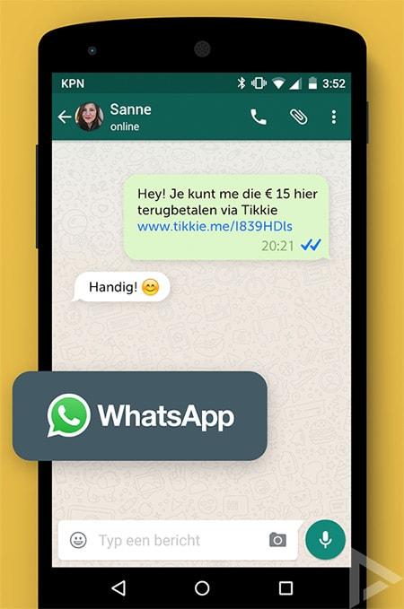 ABN Amro Tikkie app
