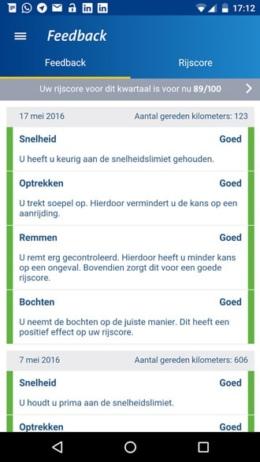 ANWB Veilig Rijden app
