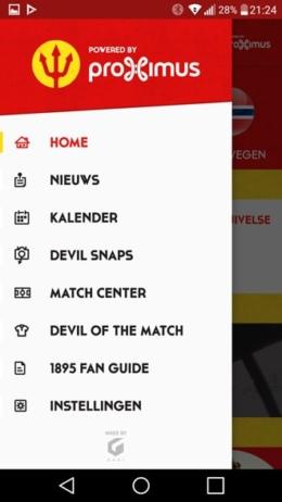 Belgian Red Devils app