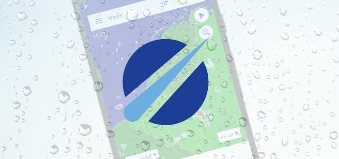 Buienradar 6.3 app krijgt update: nieuw design en verbeterde radarkaarten
