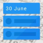 Calendar Widget Agenda: nieuwe strakke kalender op je homescreen