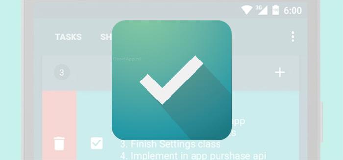 Do It: een handige en mooie app om nooit meer iets te vergeten