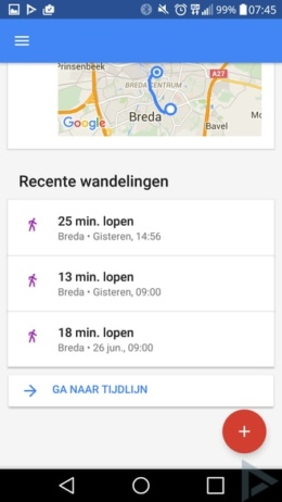 Google Fit 1.57